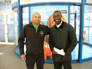 Andy Cole meets Highland Car Tours