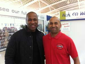Highland Car Tours meets Les Ferdinand