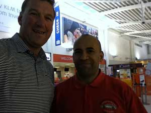 Highland Car Tours meets Mathew Pinsent