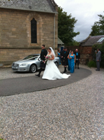 Highland Wedding Car Hire Inverness
